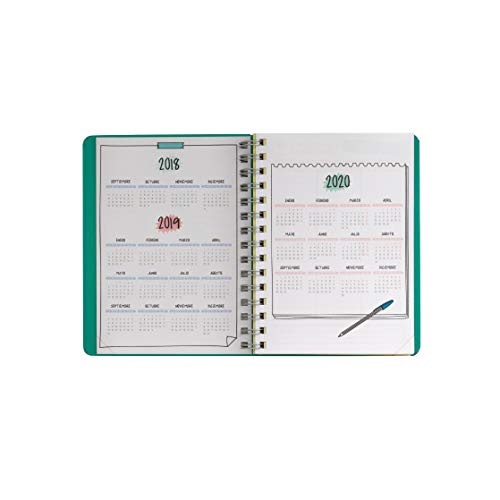 Amazon.com : Rotu Mr. Diary Wonderful 2019 Weekly View ...