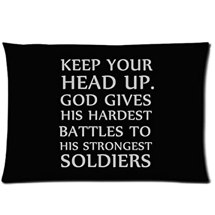 Christian Bible Versekeep Your Head Upgod Gives His Hardest