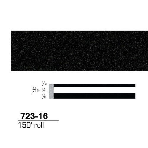 3M 3MS72316 Scotchcal Striping Tape, 72316, Black Stardust, 5/16'' x 150' by 3M