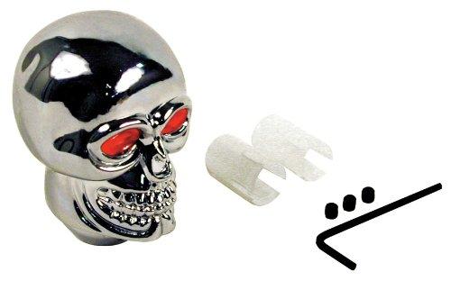 Custom Accessories 16255 Chrome Skull Style Gear Shift Knob
