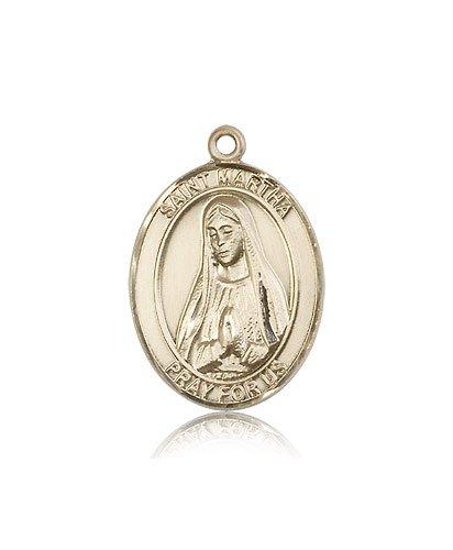 14kt Gold St. Martha Medal ()