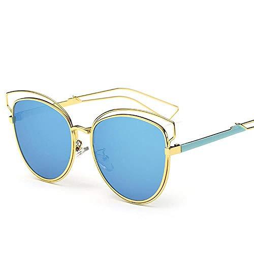 de ZhongYi Lady Soleil Metal Cat Soleil Eye Fashion Sunglasses de Fashion F Vintage Lunettes Lunettes nUxTqBtx