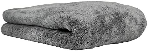 Chemical Guys MIC_1995 Woolly Mammoth Microfiber Dryer Towel (25 in. x 36 in.),Gray