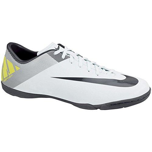 Nike Men's Mercurial Victory ll Indoor-White (9) (Shoes Nike Mercurial Victory)