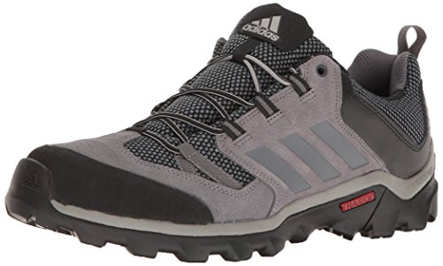 adidas outdoor Men's Caprock Hiking Shoe, Granite/Vista Grey/Black, 9.5 M US (Best Shoes For Mountain Hiking)