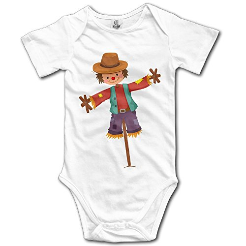 WUGOU Baby Bodysuit Little Strawman Color Short Sleeves Triangle Romper Bodysuit Outfits Infant Toddler Clothes -