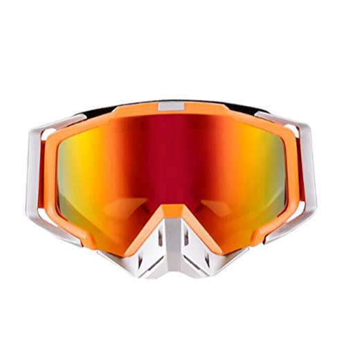 Motocross Goggles Sports Goggles Eyewere Glasses Dirt Bike Riding Cycling Off road Motorcycle ski Big Lens