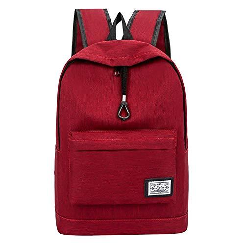 - HCFKJ Men Backpack Youth Computer Travel Campus Junior High School Student Bag