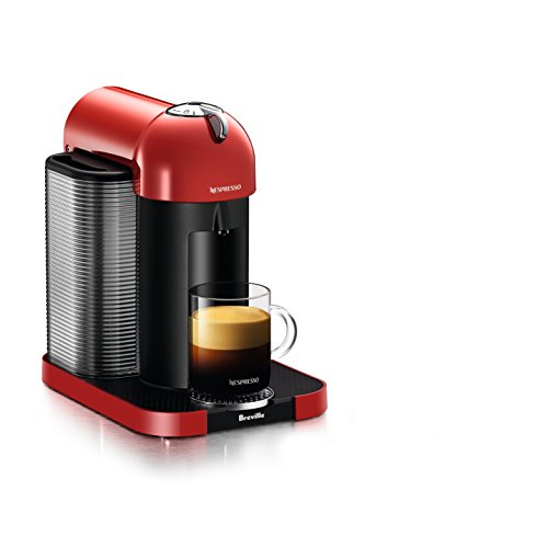 Nespresso Vertuo Coffee and Espresso Machine by Breville, Red