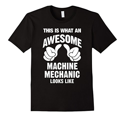 Black Mechanics Style Gloves (Machine Mechanic Awesome Looks Like T-Shirt)
