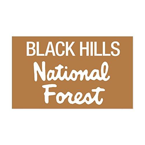 CafePress - Black Hills (Sign) National F Sticker (Rectangular - Rectangle Bumper Sticker Car (Black Hills Novelty)