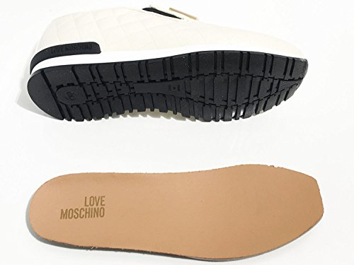 Love Moschino scarpe slipon fondo running trapuntato ds17mo04