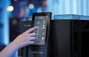 schaerer Coffee Club Cafetera automática, leche fresca, fijo Agua ...