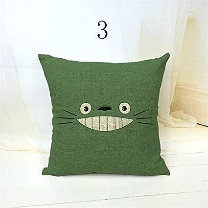 Amazon.com: Spongebob Cushion Cover Cartoon Decorative Throw ...