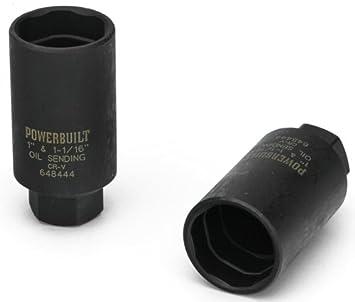 Powerbuilt 648445 1/2-Inch Drive Oil Pressure Socket