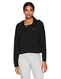 Puma Women's Transition Cover Up Athleisure Fashion Hoodie