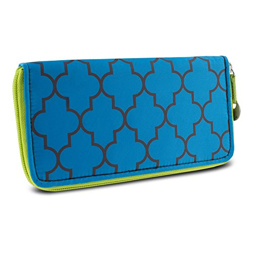 Travelon RFID Blocking Ladies Wallet, Moroccan Print from Travelon