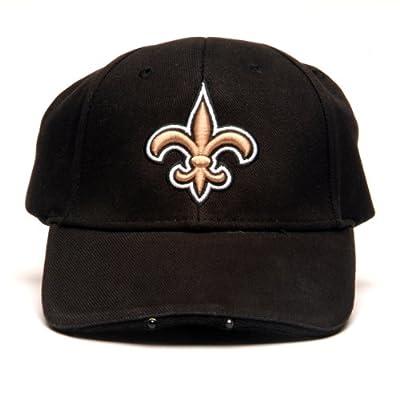 NFL New Orleans Saints Dual LED Headlight Adjustable Hat from Lightwear