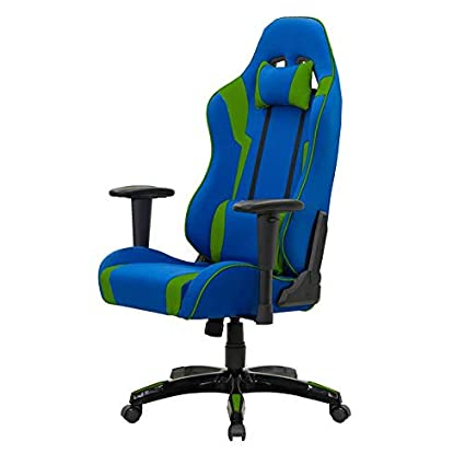 Miraculous Amazon Com Corliving Blue And Green High Back Ergonomic Ibusinesslaw Wood Chair Design Ideas Ibusinesslaworg