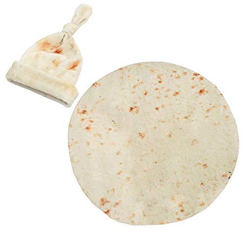 Ashipher Burrito Swaddle Tortilla