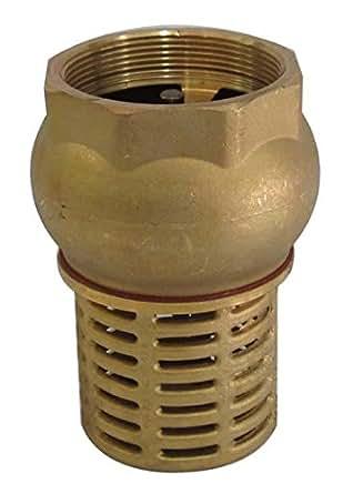 1 1 4 bsp european thread female check foot valve suction. Black Bedroom Furniture Sets. Home Design Ideas