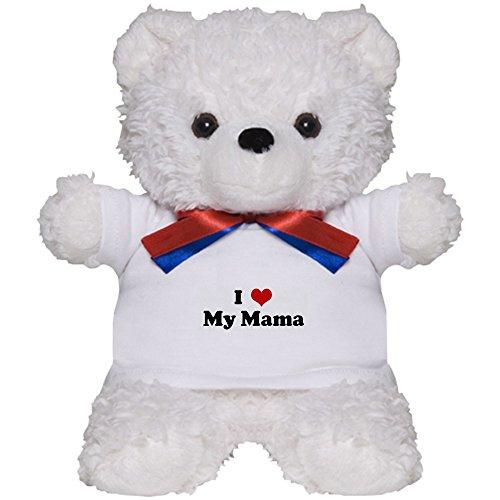 CafePress - I Love My Mama - Teddy Bear, Plush Stuffed Animal - Teddy Bear Mama