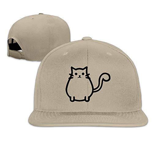 HTSFBARQ WYF Men&Women Cats Classic Hip-Hop Natural Hats Adjustable ()