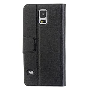 New High Quality Book style Leather Case For Samsung Galaxy S5 , Brown