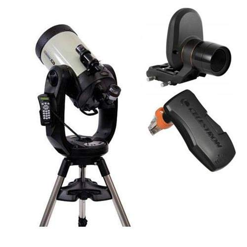 Celestron CPC Deluxe 1100 HD 11'' Schmidt-Cassegrain Computerized Telescope Deluxe Kit - with Skyportal WiFi Module & Starsense AutoAlign by Celestron
