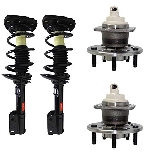 Monte Chevrolet Axle Carlo (Detroit Axle - 4PC Rear Ready Struts and Wheel Hub Bearing Assemblies for 2000-2011 Chevy Impala - [98-02 Olds Intrigue] - 00-07 Chevy Monte Carlo - 16
