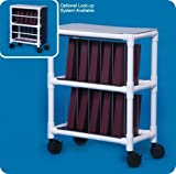 Notebook Chart Rack - Holds 10 Ring Binders