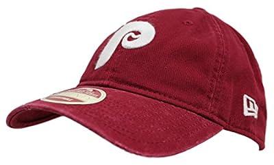 Philadelphia Phillies New Era 9Twenty Cooperstown Rugged Ballcap Adjustable Hat by New Era