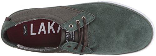 Lakai Men's Mj Skateboarding Shoe Olive Suede RoFSRmsS0