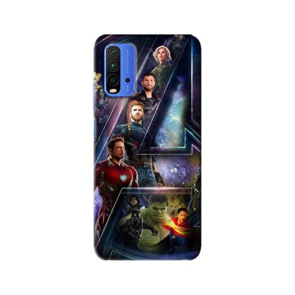 NDCOM® Avengers End Game Printed Hard Mobile Back Cover Case for Redmi 9 Power 2021 July Great print Quality gives outstanding look to your phone. Premium High Quality Printed Cases with No Peeling or Wearing off The case protects the phone from scratches, bumps, dust and stains.