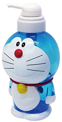 Doraemon Shampoo Bottle Body Wash Multi Purpose Press Bottle 720ml Japan Blue