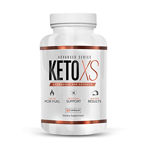 New Diet Pill - KetoXS Exogenous BHB Ketones Supplement - Weight Loss and Keto Diet Support
