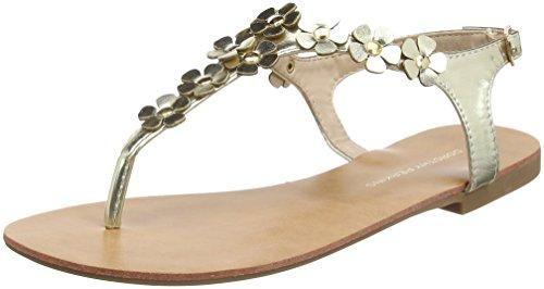 948c9ee6a41608 Dorothy Perkins Damen Fressia Embellished Sandalen mit Absatz Gold  (Metallic)