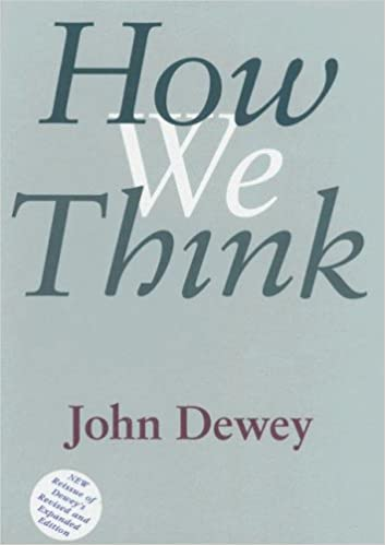 John Dewey How We Think Pdf