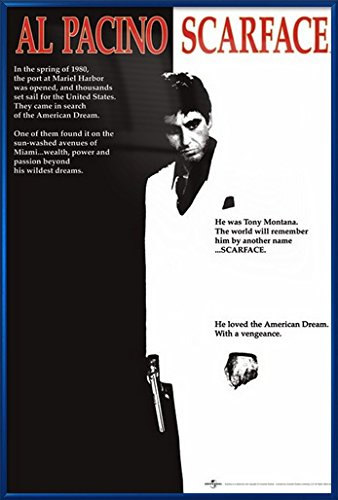 Movie Poster Scarface 24 x 36 inches