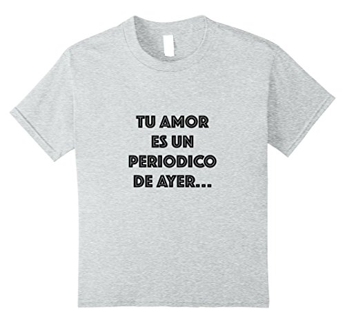 Kids Hector Lavoe La Fania T-Shirt 10 Heather Grey