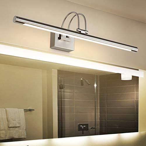 -badezimmerlampe LED-Spiegel-Scheinwerfer, wasserdicht und Anti-Nebel-Antike-Badezimmerspiegelschrank Lampe Retro Badmöbel Spiegellampe Badleuchte (Color : Warm light)