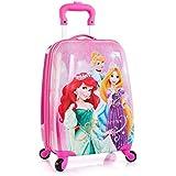 """Heys Disney Princess Kids Spinner 18"""" School Trolley Bag - 181259024358"""