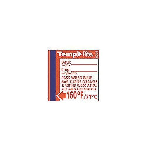 Taylor TempRite 160%C2%B0F Dishwasher Labels