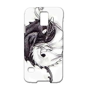 Samsung Galaxy S5 I9600 Mobile Case,Creative Fashion Dinosaur Pattern Premium Custom 3D Flexible Phone Case for Samsung Galaxy S5 I9600