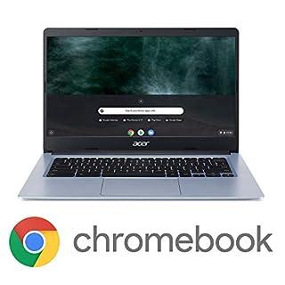 "Acer Chromebook 314, Intel Celeron N4000, 14"" HD Touch Display, 4GB LPDDR4, 64GB eMMC, Gigabit WiFi, Google Chrome, CB314-1HT-C7C0"