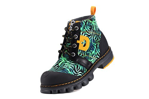 Dr.act Womens Greenery Travel Canvas Boots Verde