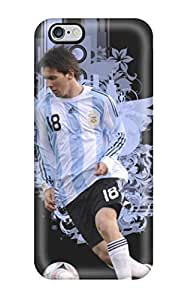 Waterdrop Snap-on Lionel Messi Argentina 2014 Case For Iphone 6