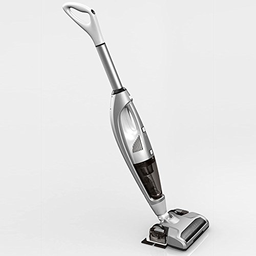 Cordless Vacuum, 3 in 1 Powerful Upright Stick Vacuum Cleaner, Handheld Vacuum Sweeper Dry and Wet Mopping with Water Tank