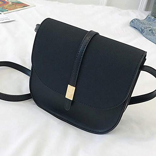 Bag Angle Leather Black Women's Back Color Mini Yellow Shoulder Bag Capacity Large MALLTY Shoulder PU PZ6T1