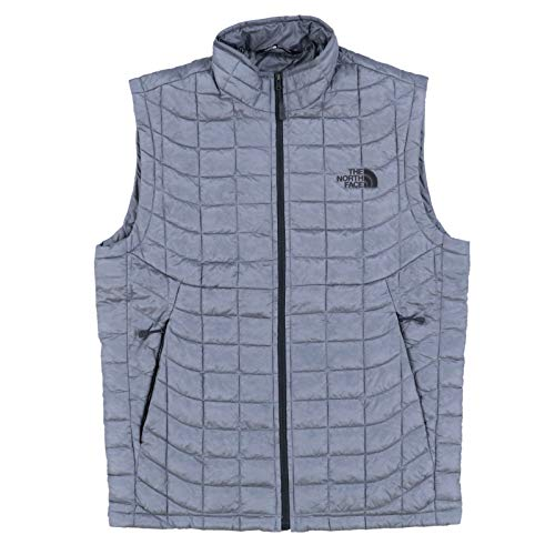 (The North Face Mens Thermoball Puffer Vest (M, Gray))